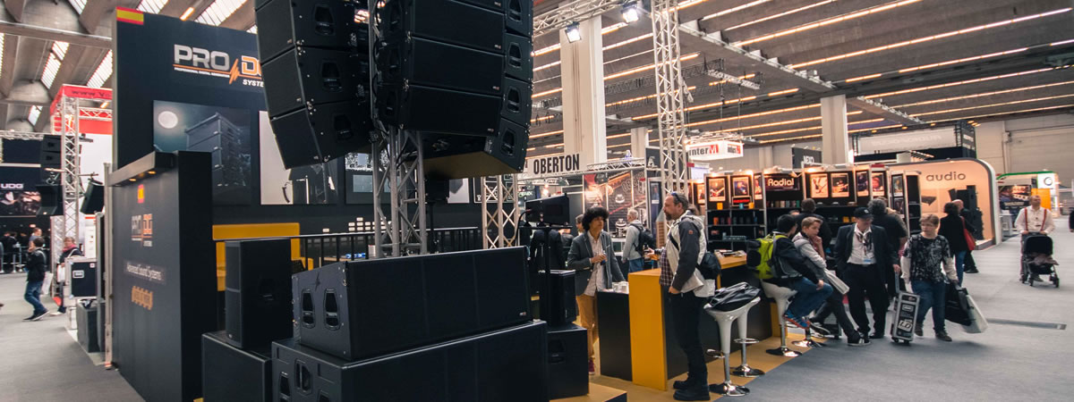 Pro DG Systems auf der prolight + sound in Frankfurt